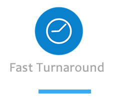 Fast web site design turnaround